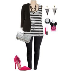 plus size girls night ready, created by kristie-payne on Polyvore