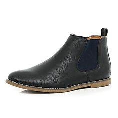 Black contrast side Chelsea boots - chelsea boots - shoes / boots - men