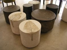 Have always liked these Holmes Wilson stools/endtables