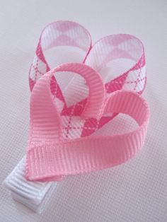 Pink Hearts Clippie