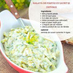 Sărăţele rapide cu telemea şi smântână | Bucate Aromate Romanian Food, No Cook Desserts, Potato Salad, Cabbage, Deserts, Food And Drink, Potatoes, Vegetarian, Vegetables