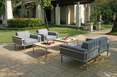 Largo Lounge Outdoor Furniture Sets, Outdoor Decor, Patio, Lounges, Home Decor, Asylum, Armchair, Stainless Steel, Table