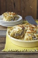 Sick of making pies? Switch it up and try a Spaghetti Pie!