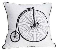 NEW Retro 22 Inch Modern Bike Bicycle Art Decorative Pillow Case Cushion Cover Sham by Great Deal Happy, http://www.amazon.com/dp/B00CGKP43K/ref=cm_sw_r_pi_dp_zd-csb1QC4FBP