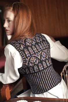 Ravelry: Tracery pattern by Kathleen Sperling in Interwave : The Unofficial Harry Potter Knits, Special Issue 2013