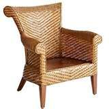 Image detail for -Wicker Roxton Wing Chair & Clayton Armchair from Pier 1 Chairs ...
