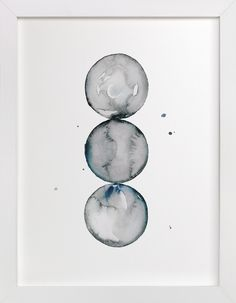 """Trio of Spheres"" by Naomi Ernest in beautiful frame options and a variety of sizes."