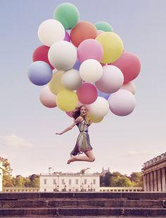 BIG colorful balloons