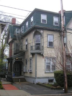 HP Lovecraft's House, Providence, my dream house...