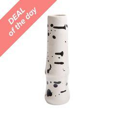 Rounded Splatter Vase | domino.com