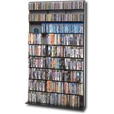 Atlantic Elite Media Tower at Best Buy - can hold 531 DVDs, 630 Blu-rays, or 837 CDs - $99.99