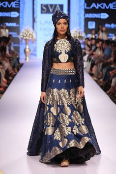 Sav Sonam & Paras Modi showcased a stunning collection at Lakme Fashion Week…