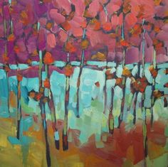 Forest of Color 24x24 $680