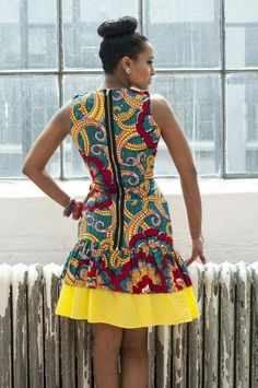 Sup though I need to see the shoes love the dress African Dresses For Women, African Print Dresses, African Attire, African Wear, African Women, African Prints, African Style, African Beauty, African Inspired Fashion