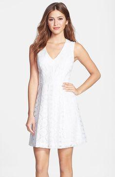 d0e25d0df6d8 Plenty by Tracy Reese  Ashley  Lace Fit   Flare Dress (Petite)