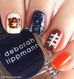 auburn nail art - Google Search