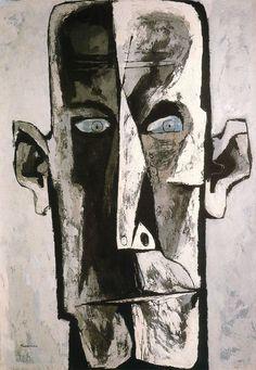 Eichman     Este trabajo está dedicado al pintor expresionista ecuatoriano Oswaldo Guayasamín. Es un artista que con un estilo atormentado, nos describe como nadie las miserias del ser humano. Comenzó a pintar y dibujar desde su infancia, y vendía sus trabajos a los turistas para costearse los estudios. Aunque debió enfrentar la oposición paterna para hacerlo, finalmente se matriculó en la Escuela de Bellas Artes de Quito, en la que permaneció durante sie