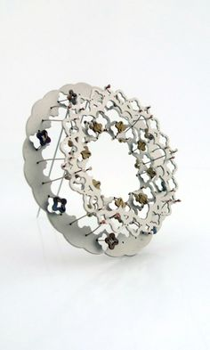 MELISSA CAMEROM-AUSTRALIA  - Stainless steel, stainless steel cable, silver solder