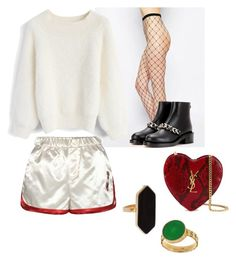 """Simple"" by indahif on Polyvore featuring ASOS, Chicwish, Givenchy, Tommy Hilfiger, Yves Saint Laurent and Jaeger"