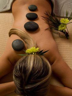 Spa - Massage - Rocks #AmericaBound @Sheila S.P. S.P. Collette Farm
