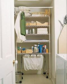 Laundry-Room Organizing