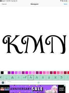 Kid Fonts, Initial Letters, Anniversary Sale, Initials, Shop Now, Monogram, Teen, Math, Kids