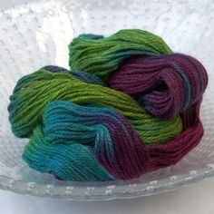 Oil Slick  - Archie Aran - 50%BFL 50%Masham British yarn