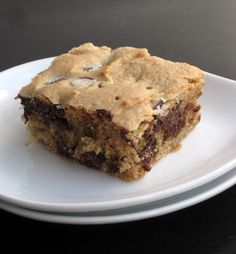 Bailey's Chocolate Chip Cookie Bars