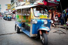 Tuk- tuk in Bangkok
