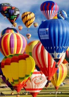 Hot Air Balloon Festival, Albuquerque, New Mexico by Mike Jones Photography