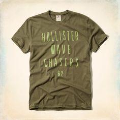 Hollister Mens Point Mugu T-Shirt Olive Green – FashionFest