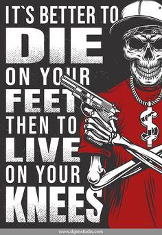 Tattoo Old School Skull Vintage - Tattoo Gangster Drawings, Gangster Tattoos, Arte Hip Hop, Hip Hop Art, Gangster Disciples, Tattoo Mafia, Blood Wallpaper, Gangster Quotes, Gangster Style