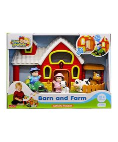 Take a look at this Barn & Farm Playset today! Creative Play, Imaginative Play, Christmas 2017, Toy Chest, Barn, Invitations, Activities, Children, Gifts