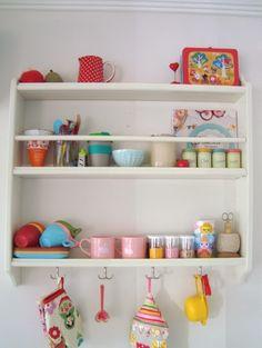 mousehouse: My Pinterest Home- Ikea Plate Shelf