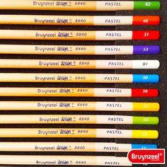 #Pastel #Potloden #Bruynzeel