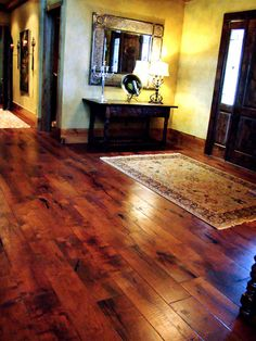 Mesquite Wood Floor