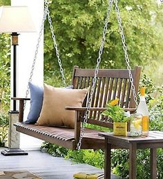 A house with a porch swing would be a dream come true