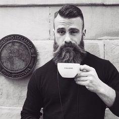 Brave & Bearded — 1-COFFEE 2-good morning @dakisavic rise & grind...