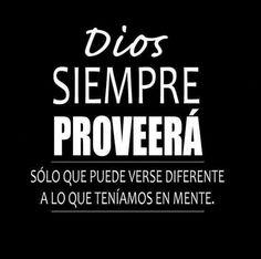 Dios siempre proveerá