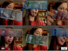 Canadian money. Great idea.