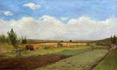 PAUL GAUGUIN. Working the Land. 1873.