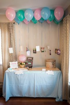 Baby Shower Ides For Girls Themes Decoration Hot Air Balloon 34 Ideas For 2019 Vintage First Birthday, Baby Girl Birthday, First Birthday Parties, 2nd Birthday, Anna Und Elsa, Baby Girl Shower Themes, Baby Shower, Birthday Pictures, Birthday Ideas