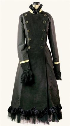 FRENCH MILITARY COAT DRESS from Victorian Trading Co http://www.victoriantradingco.com/item/2523025/103103/french-military-coat-dress