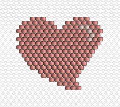 Bulle coeur rose, quatorzième jour du calendrier de l'avent Miyuki par Charlotte Souchet & La Petite Épicerie