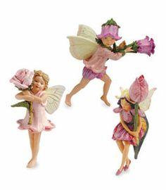 flower fairies figurines (set of 3)