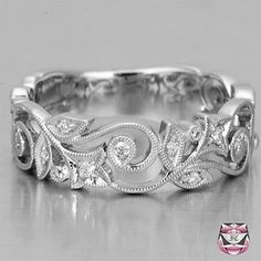 Scrollwork Ring. Not big on jewelry, but can honestly say I would be very happy to get a ring like this from my hubby. 10th anniversary maybe?!?!