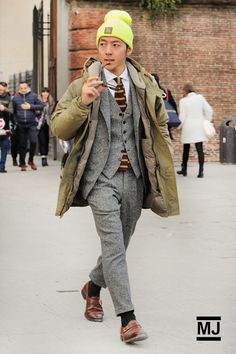 Kensuke Takehara - PITTI UOMO 85. LAYERS by Monsieur Jerome