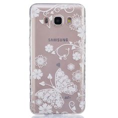 Cartoon Transparent Soft TPU Silicon Phone Case for Samsung Galaxy J5 2016 J510 J510F J510H Owl Bear Butterfly Floral Back Cover