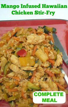 Healthy, delicious complete meal in under 30 minutes ! #StirFryRecipe #HealthyRecipe #LowFat