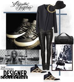 """""""Designer Collective: Shape of the Future"""" by alejandroingelmo ❤ liked on Polyvore"""